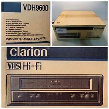 RARE Clarion VHS HI-FI VDH9600 Video Cassette Player Travel RV CAR TRUCK Sealed