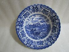 Vintage British Anchor Ironstone Old Country Castles,  Fruit Serving Bowl