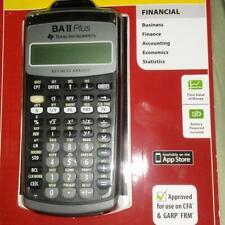 Sealed Texas Instruments BA II Plus Financial Calculator by Texas Instruments