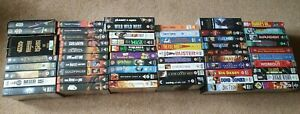 JOB LOT OF 60 FAMILY PG 12 & 15 RATING VHS VIDEO TAPES PRE-RECORDED VGC PAL
