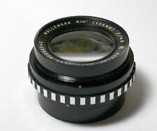 Wollensak Raptar 209mm f4.5  Lens  for large format, tested