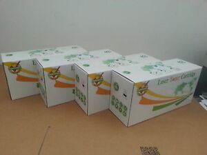 4 x Toner Set for Xerox WorkCentre 6605 6605DN Phaser 6600 6600DN 6600N