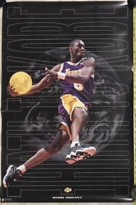 Vintage KOBE BRYANT Costacos Brothers Earth to Kobe 1997 ROOKIE YR Poster 23X35""