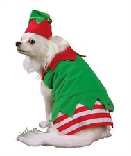 NEW Elf Dog Costume Hat Red Green White Stripe Dog Clothing (Choose Size)  sc 1 st  eBay & Christmas Costumes for Dogs for sale | eBay