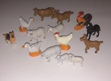 Safari Limited Farm Animal Figurines Lot Of 14