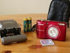 Nikon COOLPIX L26 16.1 MP Digital Camera with 5x Zoom NIKKOR Glass Lens and 3-in
