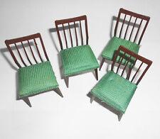 4 alte Stühle für Puppenstube 50er 60er Jahre Mid Century DDR !