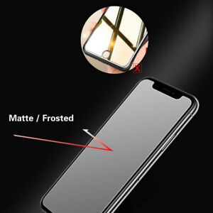 2PCS LG G7 ThinQ LG G5 Matte Frosted Tempered Glass Film Cover Screen Protector
