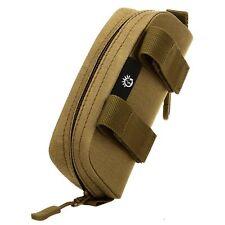 Anti-Shock Molle System Zipper Sunglasses Pouch Sunglasses Hard Bag Cases Grey