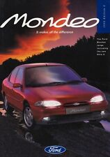 Ford Mondeo 1.6 1.8 2.0 16v 2.5 24v v6 folleto brochure 1995 UK Inglaterra 37
