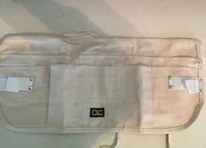 Apron Canvas Waist 12-Pocket,No C14,  CUSTOM LEATHERCRAFT