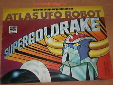 evado mancoliste figurine ATLAS UFO ROBOT SUPERGOLDRAKE Edierre GOLDRAKE