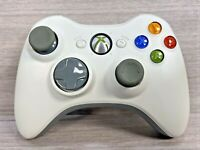 Genuine Official Wireless Xbox 360 Controller - White - **WORKING**