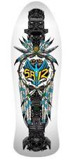 """Powell Peralta STEVE SAIZ Totem Deck Street White 10"""" DK PP Reissue Skate Deck B"""
