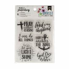 American Crafts BIBLE JOURNALING CLEAR STAMPS  GOD IS LOVE
