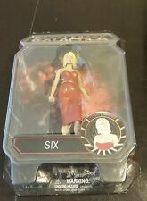 """New 2007 Battlestar Galactica Six Figure 6 1/2"""" Red Outfit Diamond Select Toys"""