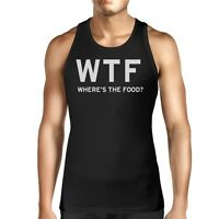 Where's The Food Unisex Tank Top Men's Work Out Sleeveless Shirt