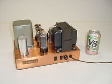 Vintage George Gott G 30U Bigg of California Boc Kt66 5881 Copper Tube Amplifier