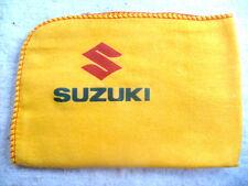 Suzuki Moto: nuevos grandes de alta calidad paño De Limpieza Plumero Con Logo Calcomanía