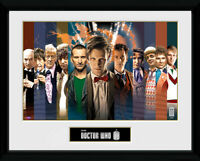 Doctor Who - 11 Doctors Collector Print 40 x 30 cm