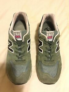 New Balance 670 green size US 10 mens