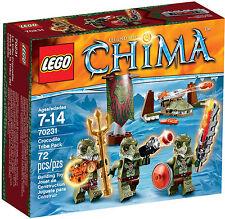 LEGO Chima - 70231 Krokodilstamm BattlePack - Neu & OVP