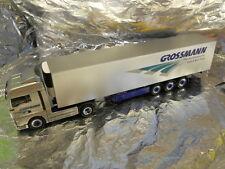 ** Herpa 279260 MAN TGX XLX Refrigerated Box Semitrailer Grossmann 1:87 HO Scale