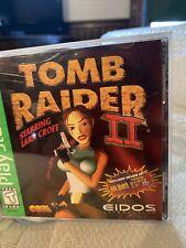 New listing Tomb Raider Ii Starring Lara Croft Greatest Hits (Sony PlayStation 1, 1997) Cib