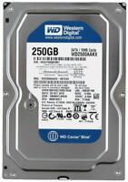 """Western Digital 250GB,Internal,7200 RPM, 3.5"""" (WD2500AAKX) Desktop SATA HDD WD"""