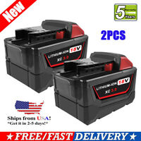 For Milwaukee 48-11-1828 3.0Ah M18 LITHIUM XC High Capacity 18Volt Battery 2Pack