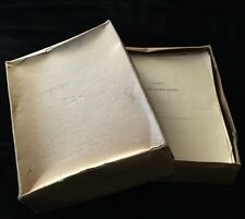 New ListingJohn Scarne Original Manuscript Women Gamblers Personally Owned with Notes!