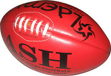 TOURNAMENT QUALITY PROFESSIONAL  GENUINE LEATHER AUSTRALIAN RULES BALL AFL - 5