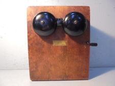 Vintage Monophone Phillips Electrical Works Telephone Ringer 25200A MODEL XB