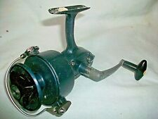 Vintage True Temper Open Faced Spinning Fishing Reel, Works Well Made in Japan
