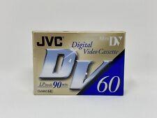 NEW Mini DV Cassette Tapes 60 min Digital Camcorder JVC DVM60ME Sealed