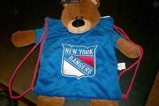NWT NHL NEW YORK / NY RANGERS HOCKEY FAN - KIDS BACKPACK