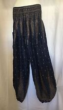 Ladies HAREM Boho Pants Summer Plus Size 16 18 20 Also Maternity Ps-bls