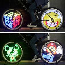 128 LED Bike Wheel Spoke Light 26'' DIY Bicycle Light Tire Reflectors Waterproof