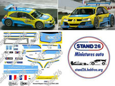 Decals Renault Megane Trophy  Loeb ROC Race of Champions 2005 1/43e