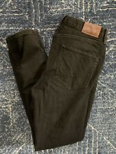Madewell Skinny Skinny High Rise Jeans Black Size 30 EUC