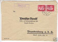 Landpoststempel, Poststelle II, Schweinrich über Wittstock (Dosse), 4.7.42
