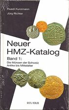 NUOVO HMZ-catalogo, volume 1, le monete della Svizzera, antichi fino al Medioevo