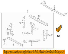 SUBARU OEM 14-15 XV Crosstrek Radiator Core Support-Gusset 50825VA0009P