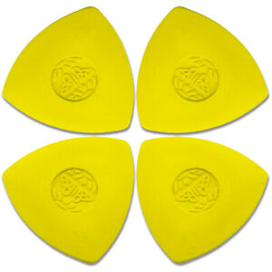 4 X TAILORS CHALK - Yellow Fabric Sewing Marking Dressmaking Tailor Markers