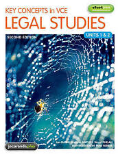 Key Concepts in VCE Legal Studies Units 1 & 2 & eBookPLUS by Peter Farrar,...