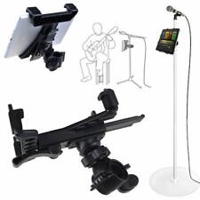 "Universal 7""-13"" Tablet Pad Holder for Mic Microphone Stand, Bike Bicycle Mount"