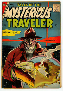 JERRY WEIST ESTATE: TALES OF THE MYSTERIOUS TRAVELER #7 (Charlton 1958) VG