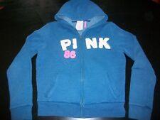 Women's Victoria's Secret Pink Zip Up Hoodie (Size Large)