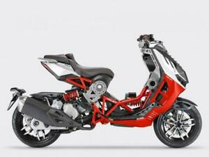 ItalJet Dragster 125cc Naked Sports Automatic Scooter