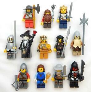 NEW LEGO 4 RANDOM CASTLE MINIFIG LOT minifigure figure knight king queen